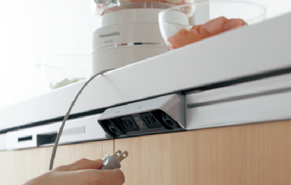 パナソニック ラクシーナ I型2550mm 食器洗い機付